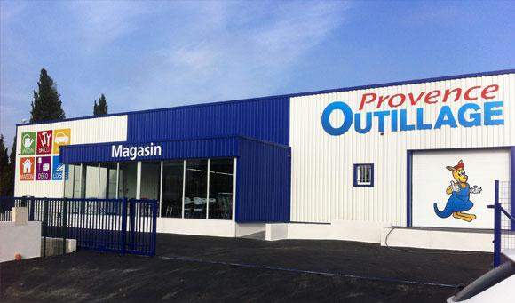Ouverture du nouveau magasin Provence Outillage