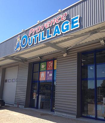 Ouverture du nouveau magasin Provence Outillage dans le var