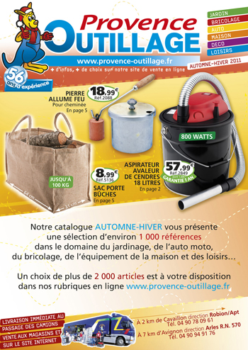 catalogue Provence Outillage automne-hiver 2011