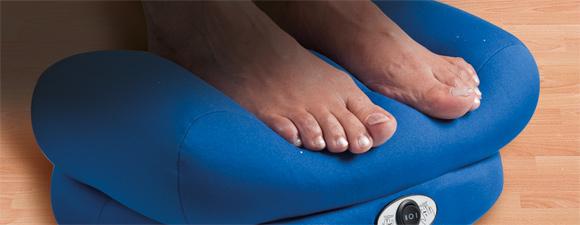 Un coussin de massage pour les pieds outillage bricolage jardinage et acc - Coussin de massage scholl ...