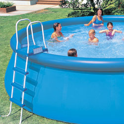 La piscine accessible pour tous les budgets outillage for Piscine portante