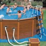 piscine hors sol rigide acier