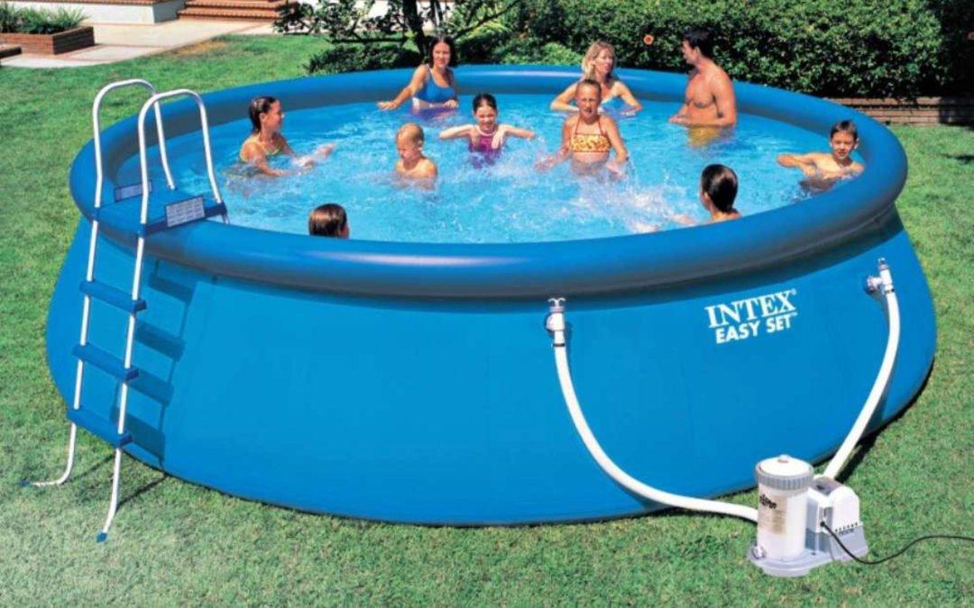 Les piscines gonflables