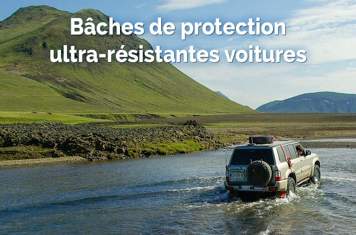 Les solutions Provence Outillage pour les bâches de protection voitures