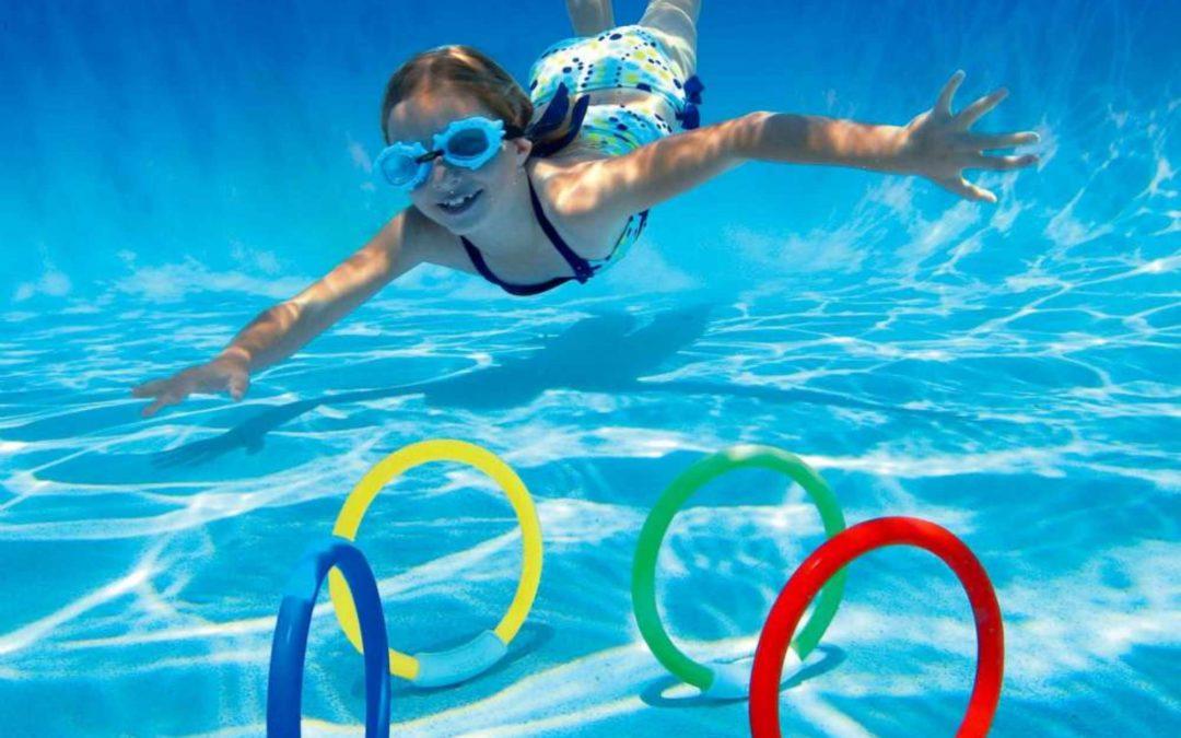 Jeux piscine pour réussir ses vacances