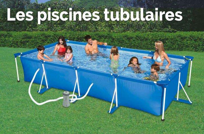 Les piscines tubulaires