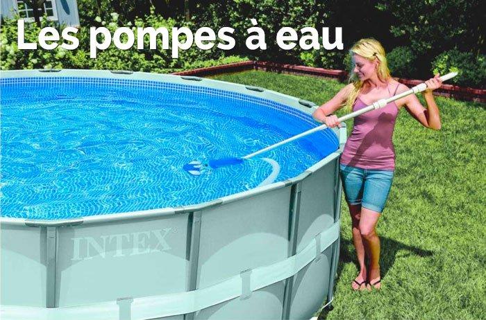 Vente de pompes à eau